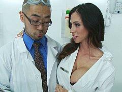Ariella Ferrera, Johnny Sins  Take it off!