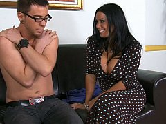 Sienna West, Dane Cross  Blowjob to one of her students