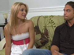 Alyssa Branch, Rocco Reed  Blonde babe with her sister's brother