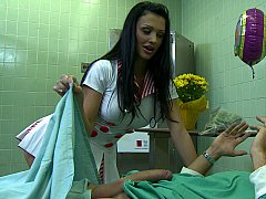 Aletta Ocean  Aletta takes very good care of her patient