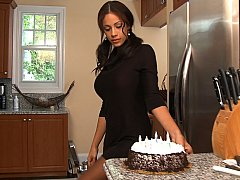 Jmac, Jamie Valentine  Busty boss and her birthday idea