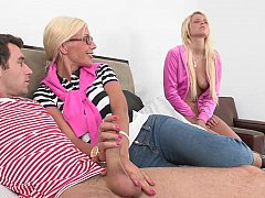 Puma Swede, James Dean, Vanessa Cage, Marc Medoff  Mom gets fucked in front of her step-daughter