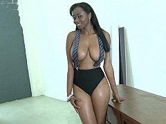 Chris Johnson, Mya Lushes  Luscious Black Tits