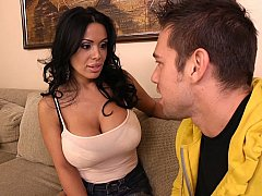 Sienna West, Johnny Castle  Fucking my friend's mom's big tits